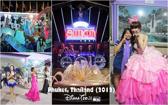 4D3N Day 1 - Phuket Simon Cabaret