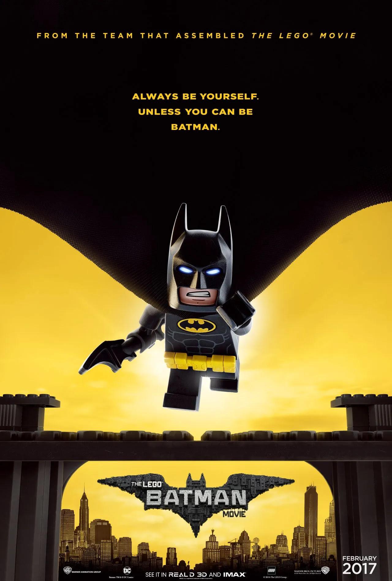 Image result for lego batman poster