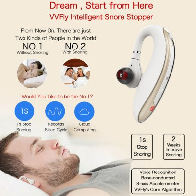 VVFly Smart Headset Earphone Type Snore Stopper