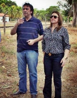 Secretário Ricardo Murad e a prefeita Teresa Murad