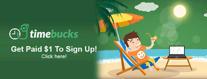 TimeBucks is a Earning site| Earn Upto $300/Month from home
