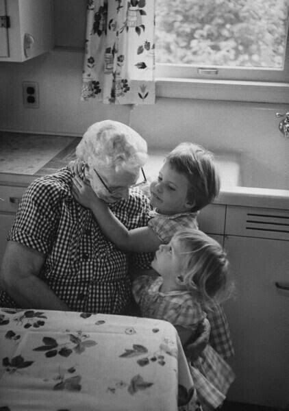 Grandma's give the best hugs.  Adopt a Grandparent...my heart aches for lonely grandparents