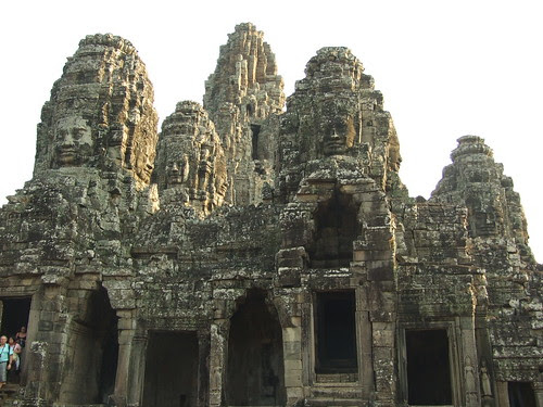 Another view of Bayon Temple