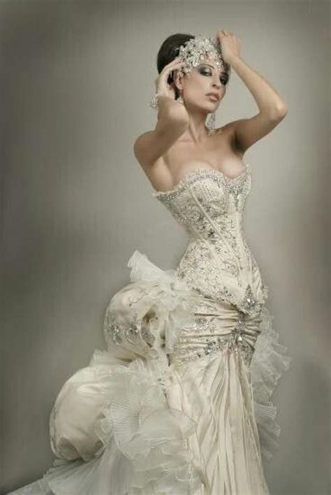 Dress   Steampunk Wedding Gown #2027926   Weddbook