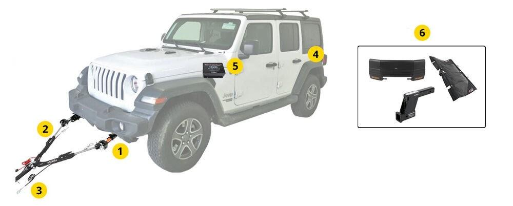 Jeep Jl Flat Tow Wiring Harness