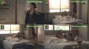 Paula Neves sensual em lingerie na novela Jogo Duplo