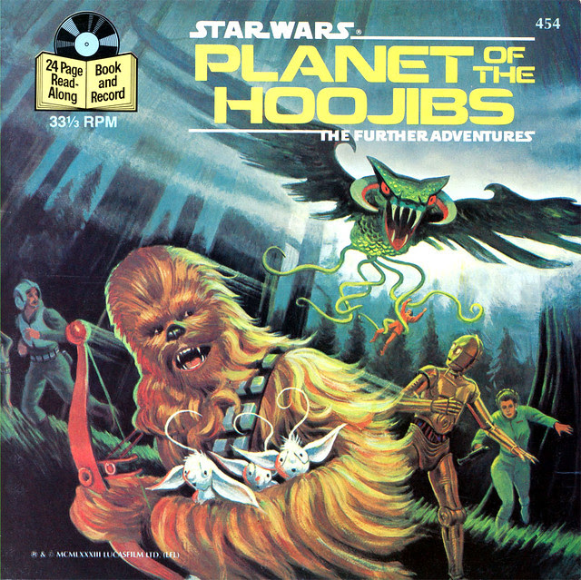 Star Wars - Planet Of The Hoojibs (1983) Illustrated By Greg Winters 1