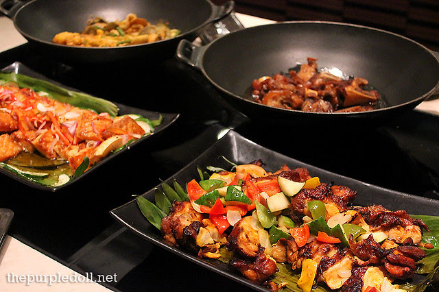 Filipino Dishes at Spiral Sofitel