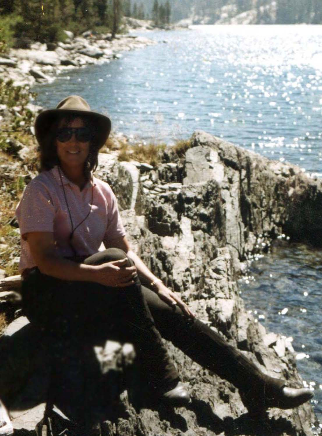 Diana Wilder at Yosemite