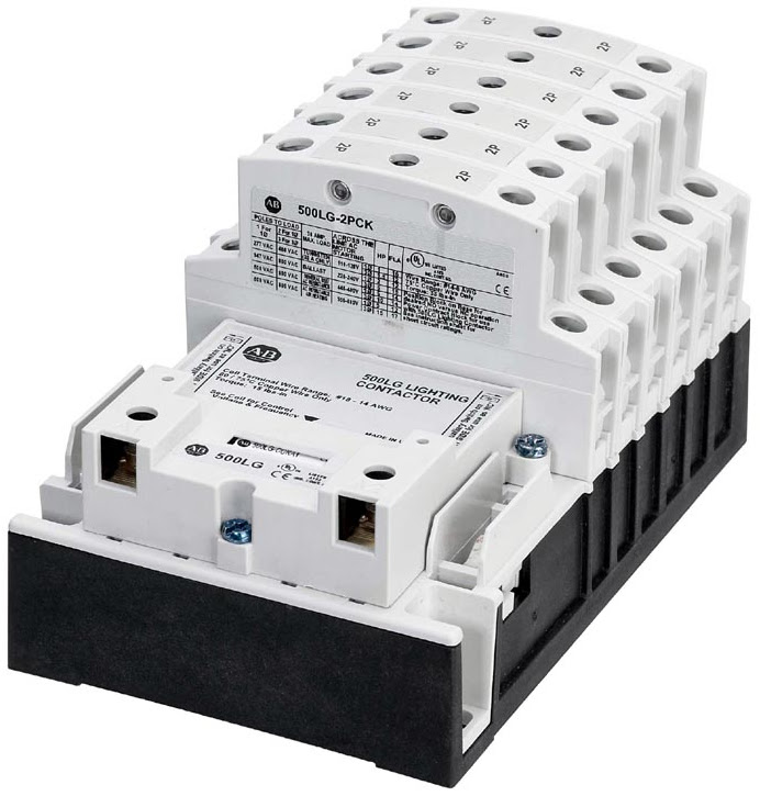 Lighting Contactors are suited for global lighting control