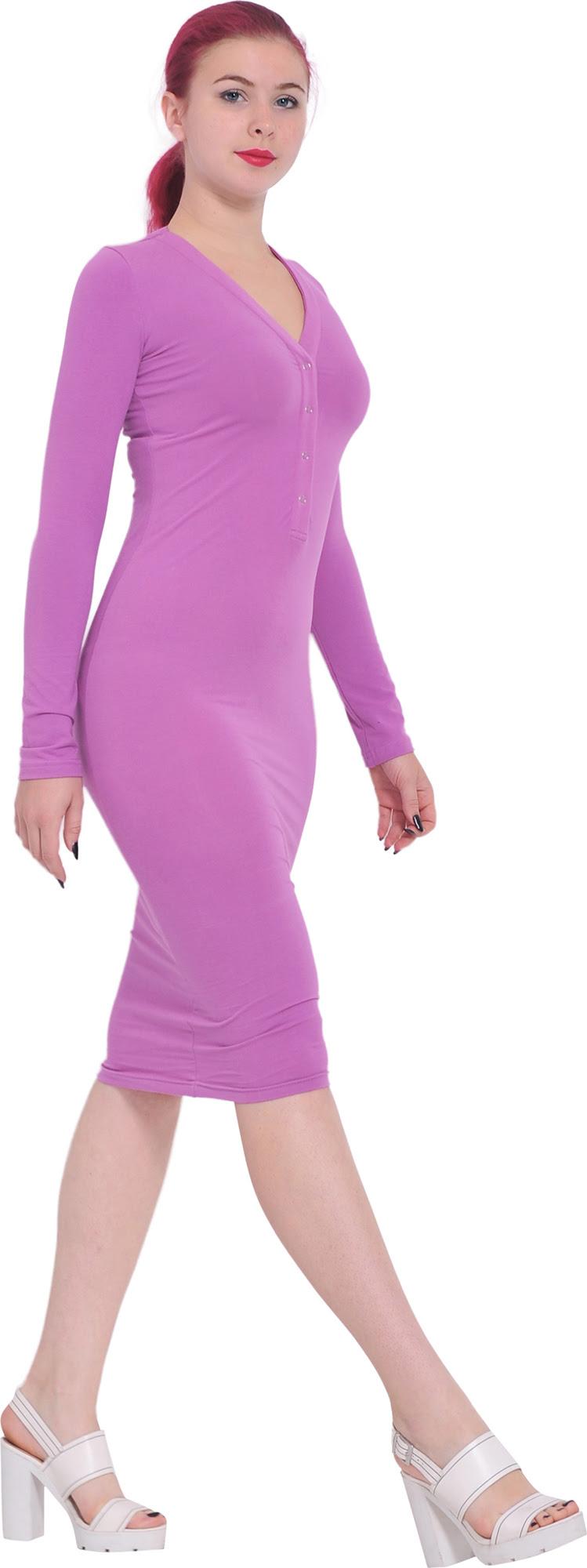 Bodycon dresses tea long plus length size cute for