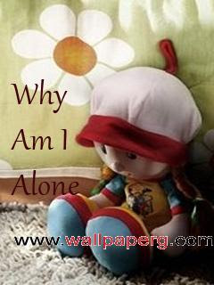 Download I Am Alone Hurt Wallpapers Mobile Version
