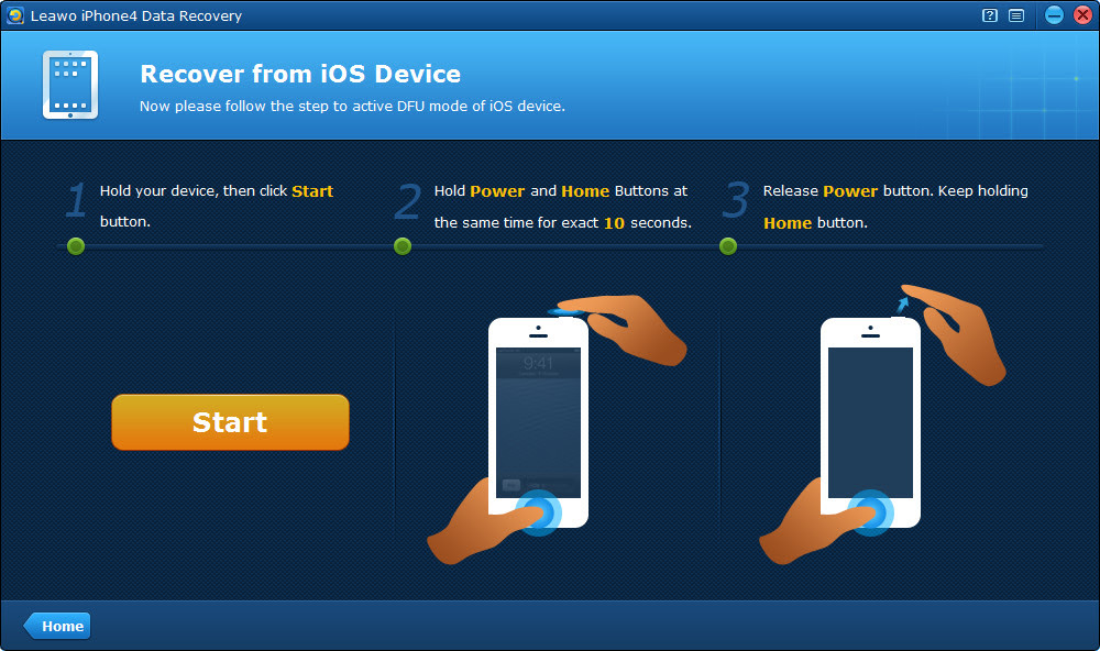 Leawo iOS Data Recovery User Guide \u2013 How to recover deleted data from iPhone\/iPad\/iPod touch