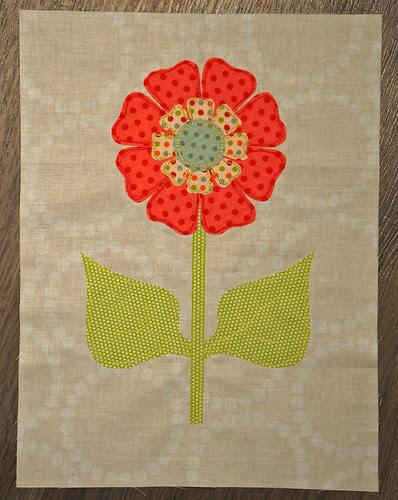 Art Nouveau Sunflower V1