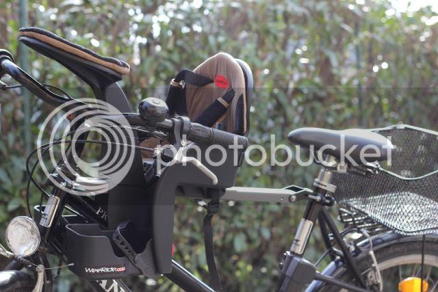 Unser neuer Fahrradsitz, der WeeRide Safe Front Deluxe