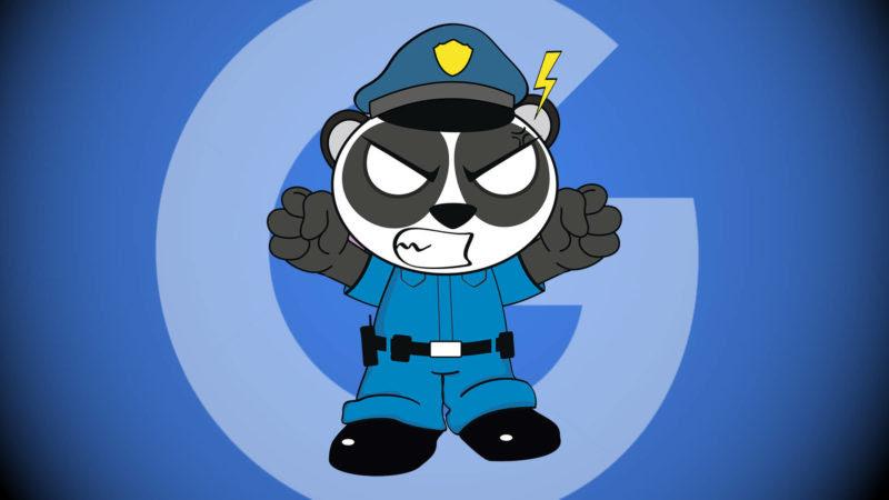 Angry Google Panda