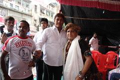 At The Dadar BJP Dahi Handi Pandal Ranade Road 2012 by firoze shakir photographerno1