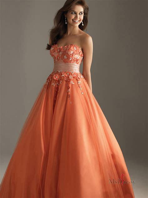 Orange Prom Dresses   Orange Dresses for Prom ~ Simply