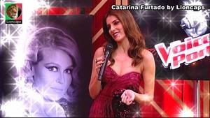 Catarina Furtado sensual no The Voice