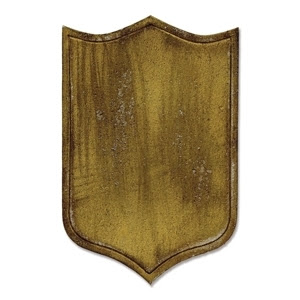 Tim Holtz Movers & Shapers Armor Shield Die