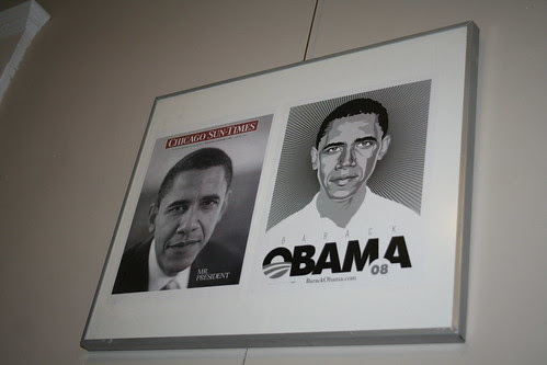 Barack Obama Wall Hanging