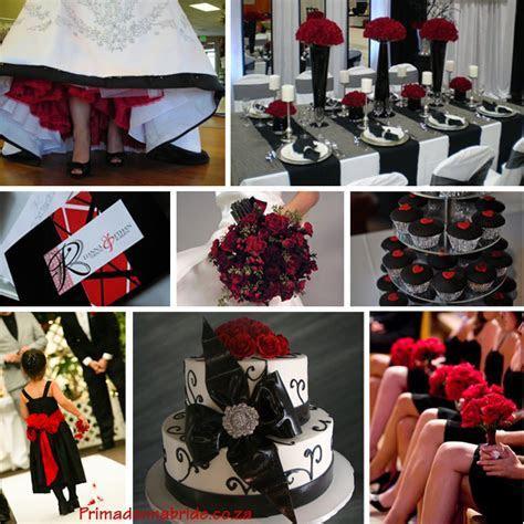Wedding colours: Red and Black   Primadonna Bride