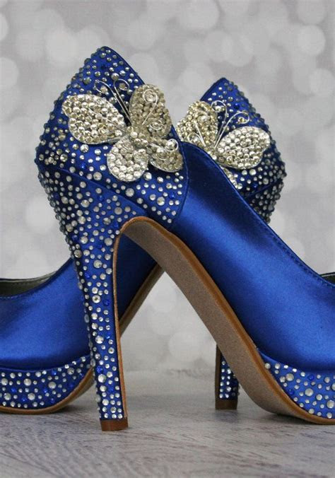 royal blue shoes ideas  pinterest royal