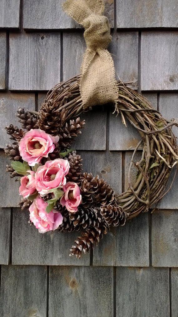 Verano de la guirnalda floral guirnalda piña