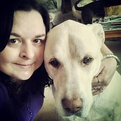Morning selfie with my big guy #love #ilovemydogs #bigdog