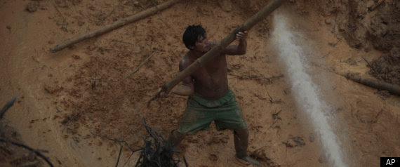gold rush pictures. Amazon Gold Rush Destroying