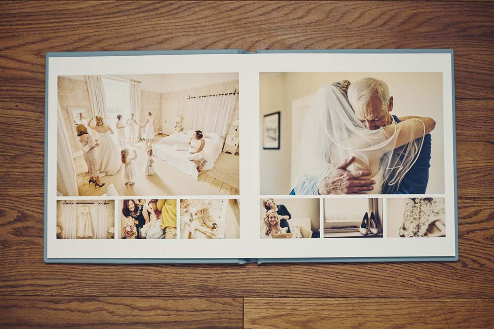 Folio Wedding Album - www.helloromance.co.uk