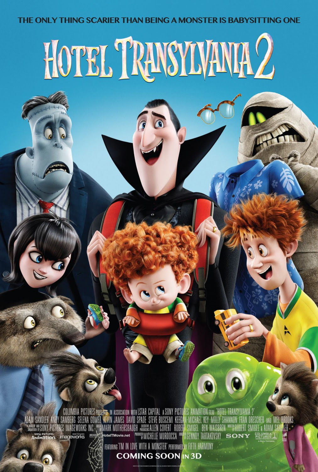 Extra Large Movie Poster Image for Hotel Transylvania 2