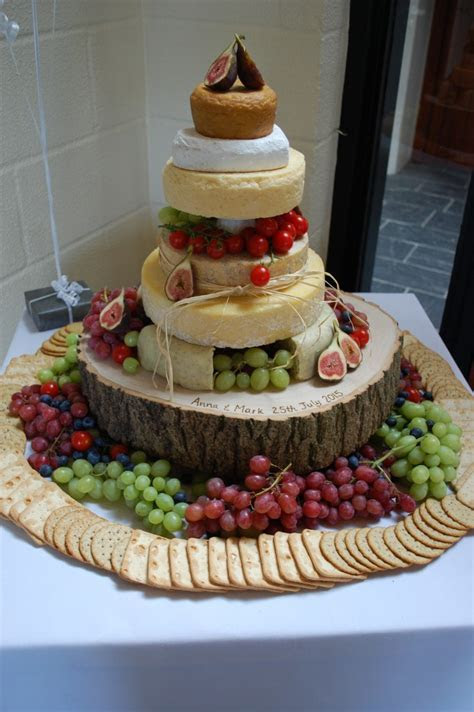 Tiers of Cheese   Wedding Cakes Pembrokeshire