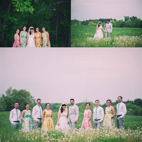 Angie & Reed: A Whimsical Wedding with Bright Pops of