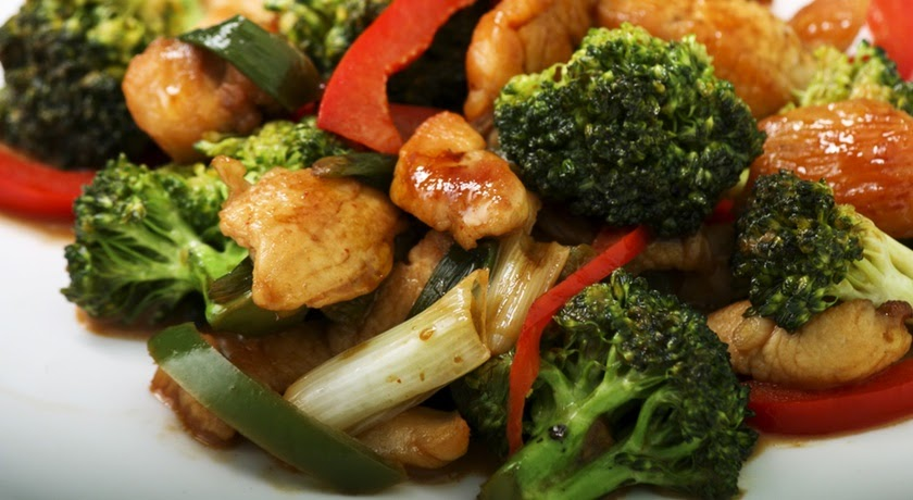 Chicken Rice Recipes How To Make Broccoli And Chicken Stir Fry-4993