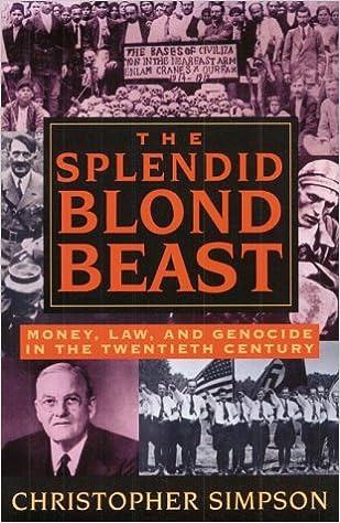 The Splendid Blonde Beast