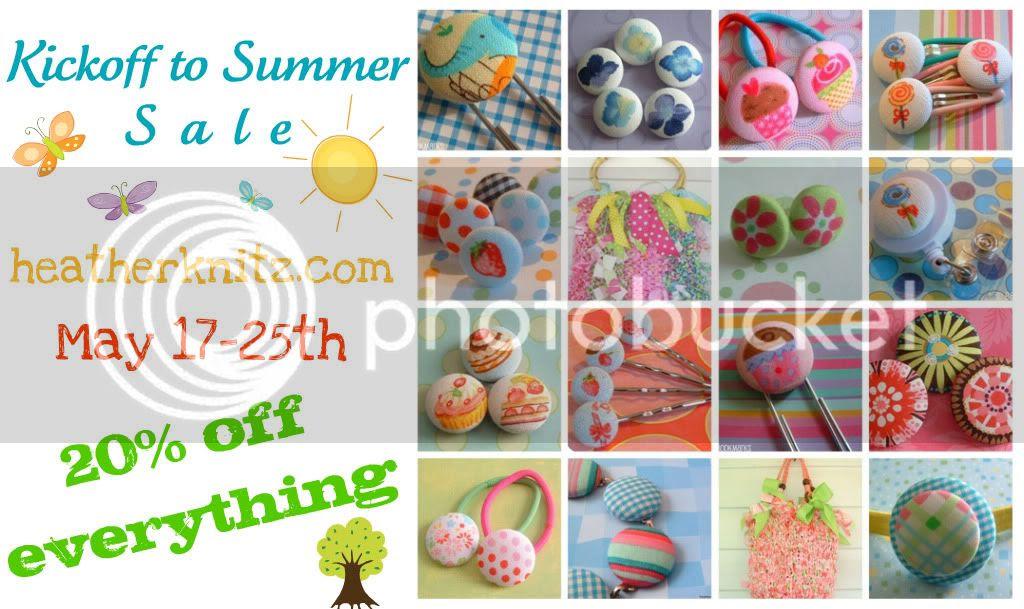 Kickoff to Summer Sale!
