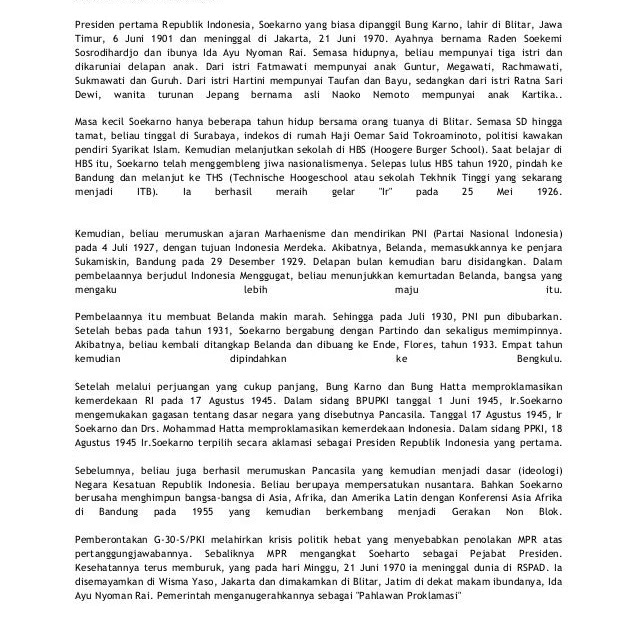 Contoh Biografi Idola - Contoh Dr