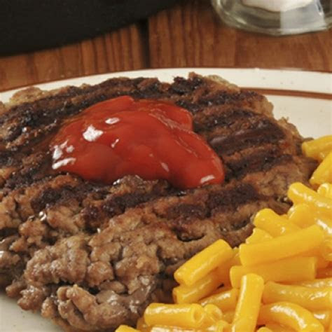 hamburger steak recipe   great meal  kids