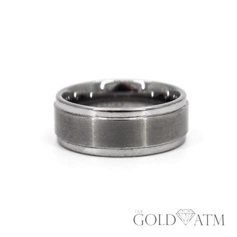 Men's Triton Comfort Fit Wedding Band (Size 11)   The Gold ATM