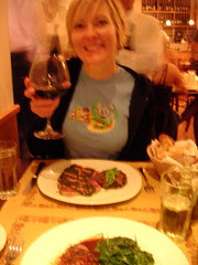 Sharon at Angelina Osteria