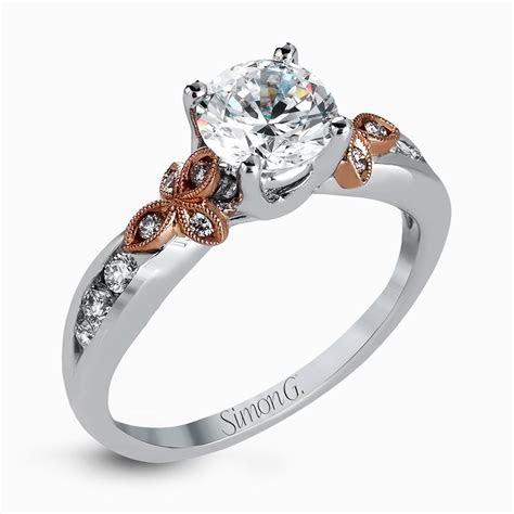 Brilliant custom build engagement ring   Matvuk.Com