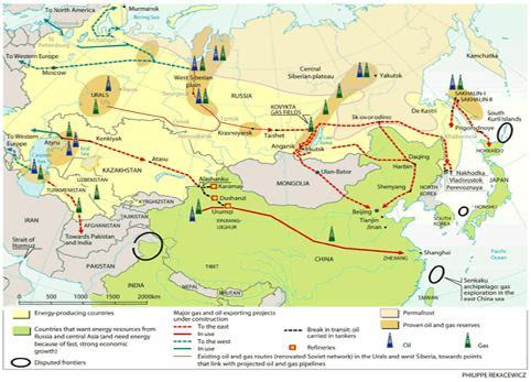 Putin inaugura último trecho russo de oleoduto com a China