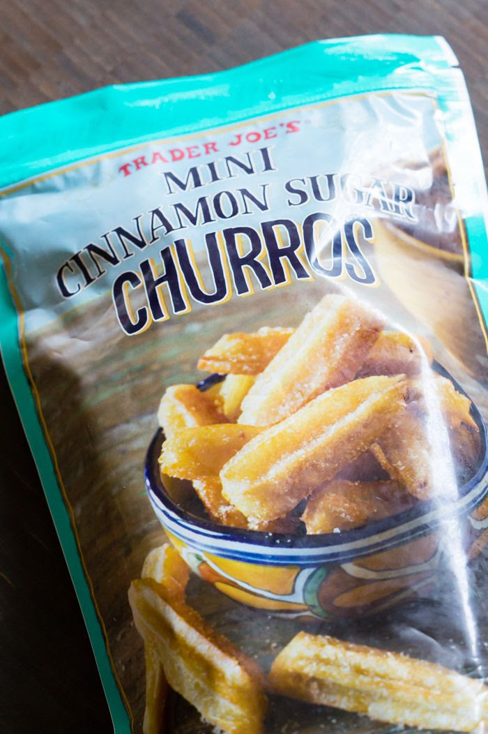 trader joe's mini cinnamon sugar churros review : part of a weekly review series of tj's desserts and treats