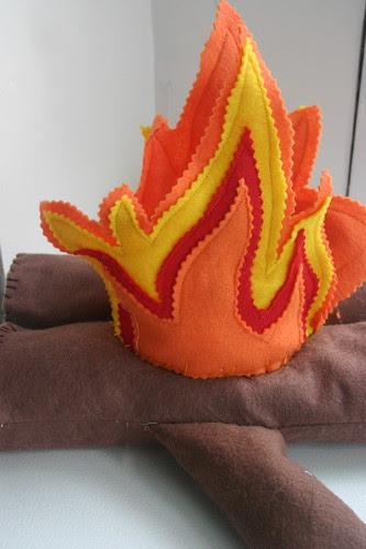 Felt Campfire