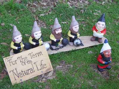 For the Term of His Natural Gnome