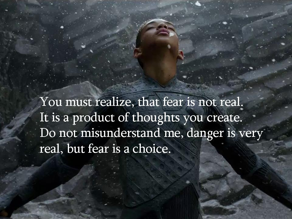 After Earth Fear Is Not Real Scifi