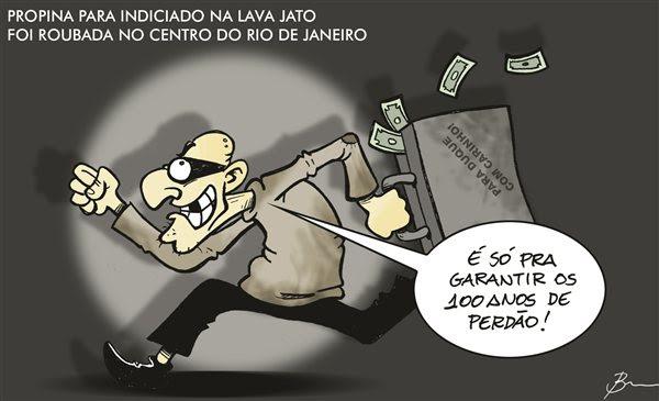 Ladrão que rouba ladrão….rsrsrsrsrs