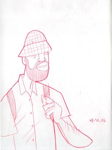 sketchdump: some dude