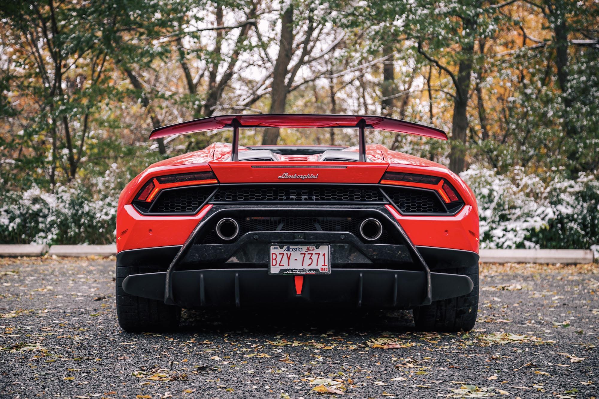 Review 2018 Lamborghini Huracán Performante Spyder Car
